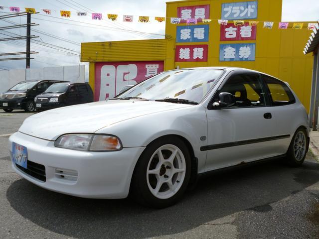 ホンダ SiR ロールバー 車高調 マフラー エキマニ