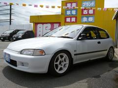 シビックSiR ロールバー 車高調 マフラー エキマニ