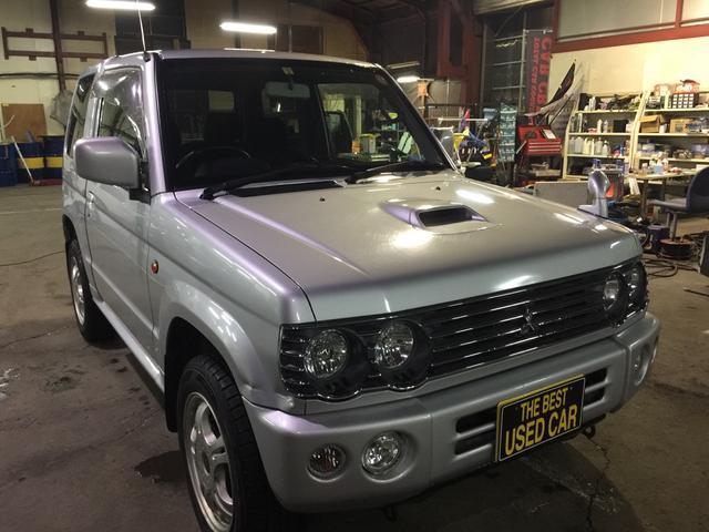 三菱 パジェロミニ リンクスV パートタイム4WD (車検整備付)