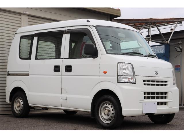 スズキ PA 1年保証付き 4ナンバー 軽バン ハイルーフ ラジオ タイミングチェーンエンジン 車検令和5年7月まで