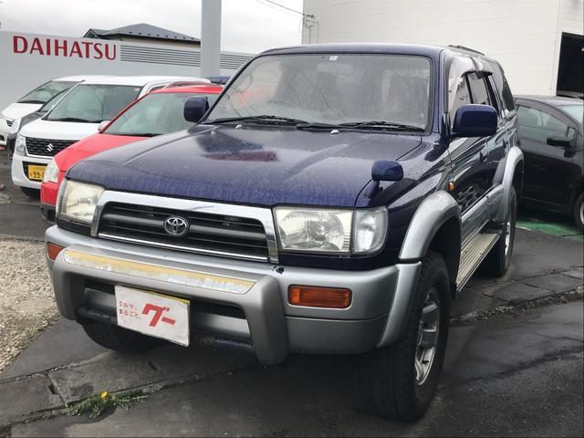 「トヨタ」「ハイラックスサーフ」「SUV・クロカン」「青森県」の中古車