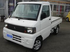 ミニキャブトラックVタイプ 4WD AC/PC付 社外アルミ 新品マット