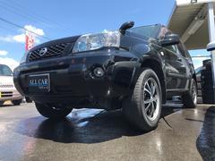 エクストレイルStt 4WD 社外マフラー 社外フォグ 本革シート