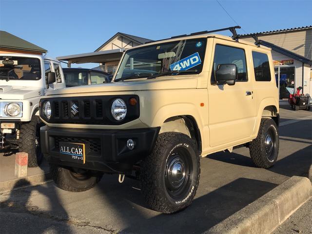 スズキ XL 4WD ETC リフトアップ BFグッドリッジタイヤ