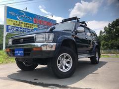ハイラックスサーフSSR−V ワイド 4WD アイドルアップ 社外アルミ