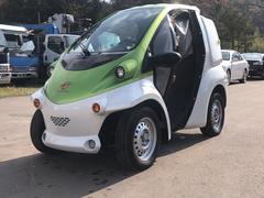 トヨタコムス 充電ケーブル付 100%電気ミニカー