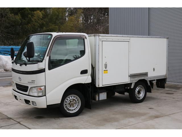 トヨタ 冷凍冷蔵車 4WD -7℃~35℃
