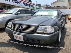 M・ベンツ500SL ナビTV 革シート 18インチアルミ 左H