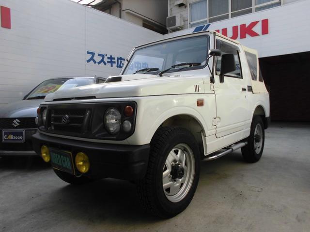 スズキ CC 幌 5速MT 4WD ターボ エアコン CD