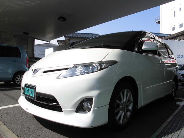 トヨタ アエラス両側電動スライドドアETCナビTVスマートキー禁煙車