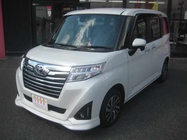 トヨタ ルーミー カスタムG 9インチナビ TV ETC ドラレコ シートヒーター