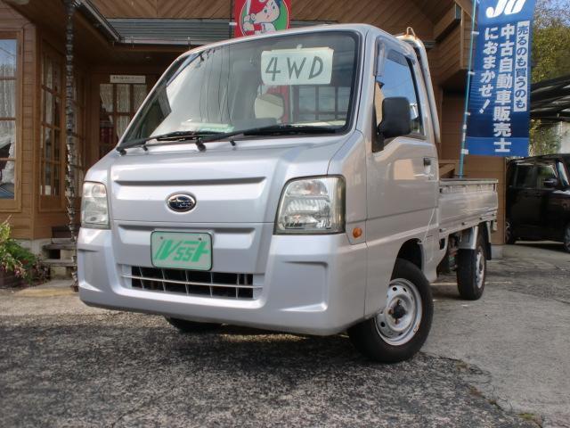 スバル  4WD・エアコン・パワステ・