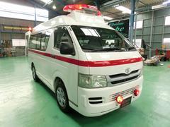 ハイエースバンロングDXハイルーフ 救急車