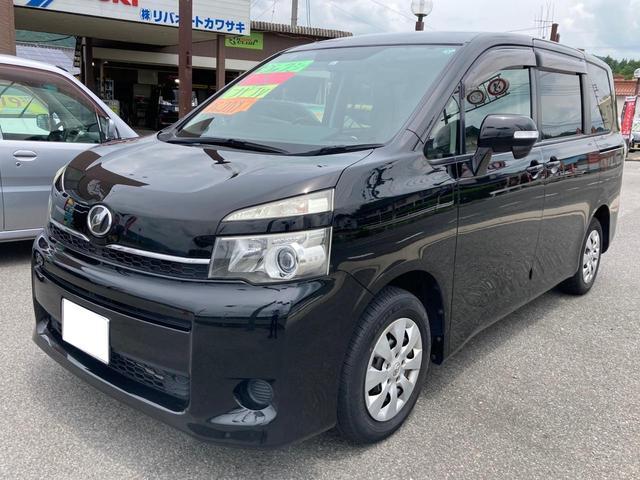 トヨタ X 左側電動スライドドア TVナビ バックカメラ Bluetooth接続可 ETC 3列シート ダブルエアコン キーレス