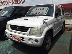 パジェロミニV 4WD ターボ車 記録簿 キーレス 純正アルミ 4WD