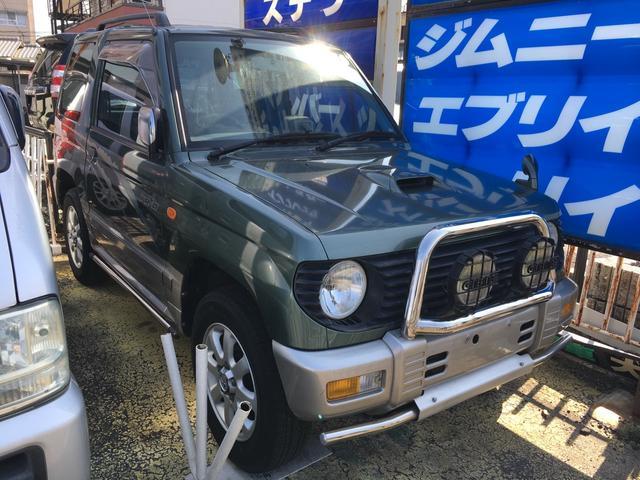三菱 パジェロミニ VR−II 4WD ETC CD MD アルミ...