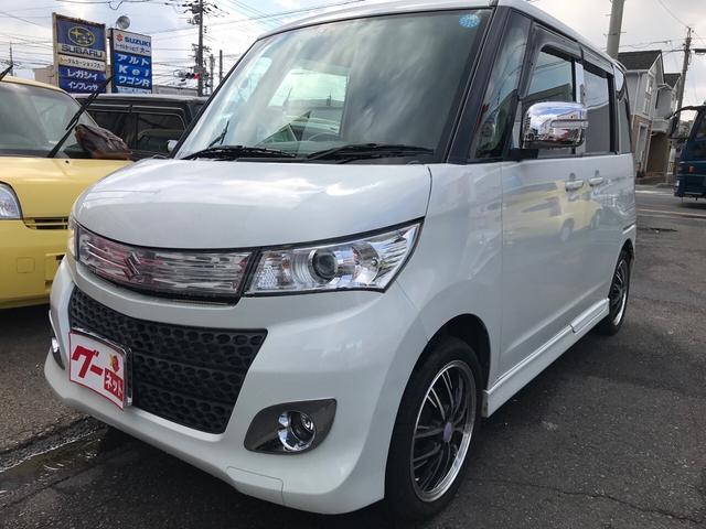 TS 軽自動車 CVT ナビ 修復歴無 両側電動スライドドア(1枚目)