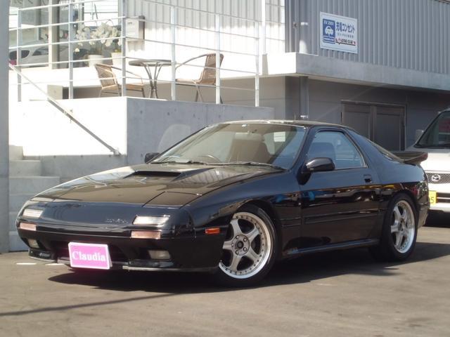マツダ GT-X 車高調 マフラー ボルクレーシング17インチAW