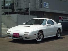 サバンナRX−7GT−X TEIN車高調 全塗装白 RECAROシート