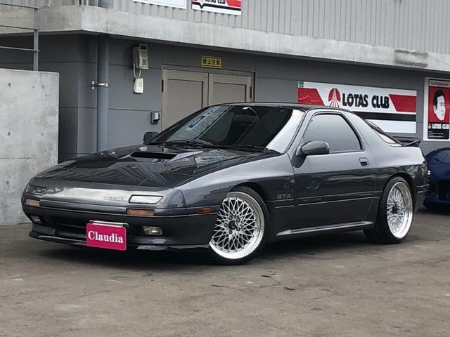マツダ GT-X MT載替 レカロ 車高調 ナイトスポーツマフラー