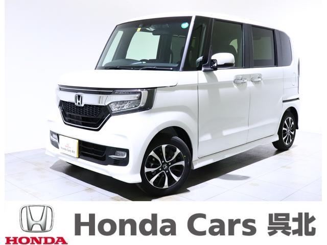 ホンダ N-BOXカスタム G・Lホンダセンシング 試乗車 ナビ Bカメラ 両側パワスラ