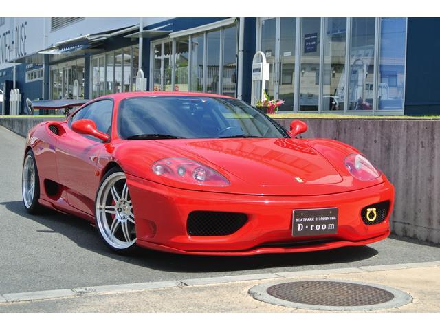 フェラーリ モデナF1 HAMANN仕様 CORNES正規ディーラー車