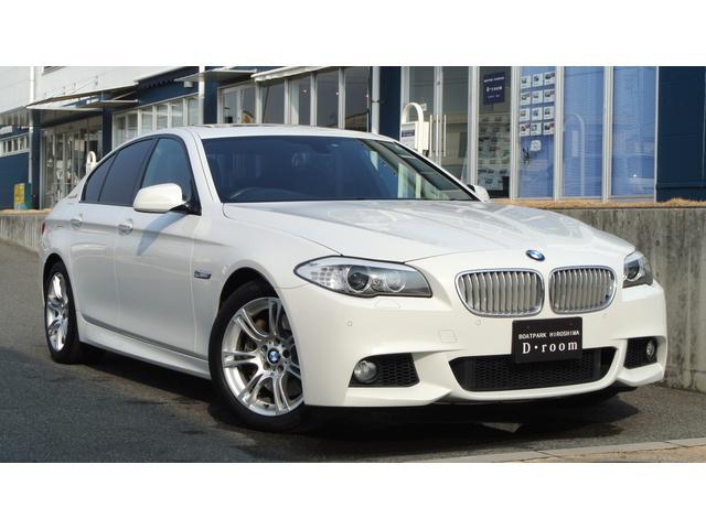 BMW アクティブハイブリッド5 MスポーツPKG 黒レザー SR