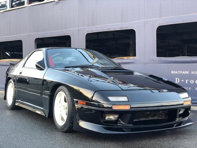 マツダ GT-X ディーラー圧縮測定済 レストア済 車高調
