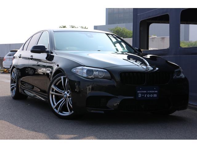BMW 5シリーズ 523i M5LOOK ドラレコ バックカメラ テレキャン クルコン KELLENERS20インチアルミホイール MARVINダウンサス 4本出しマフラー ブラックキドニーグリル
