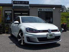 VW ゴルフGTIGTI 禁煙車 純正ナビ フルセグTV