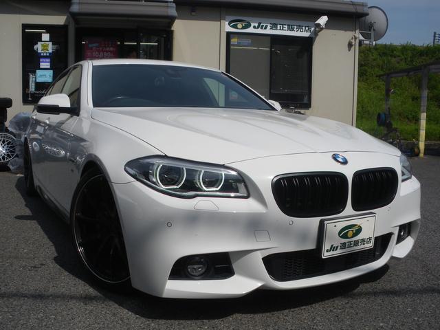 BMW 5シリーズ 528i Mスポーツ KW車高調 RAYS20インチ