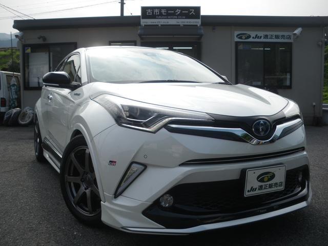 トヨタ HV G モデリスタエアロ3点 エンケイ18インチホイール