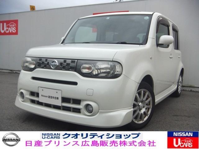 日産 キューブ 15X FOUR Vセレクション 4WD ナビ