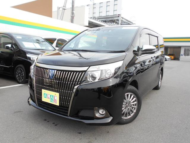 トヨタ ハイブリッドGi ブラックテーラード サポカー 9インチナビ