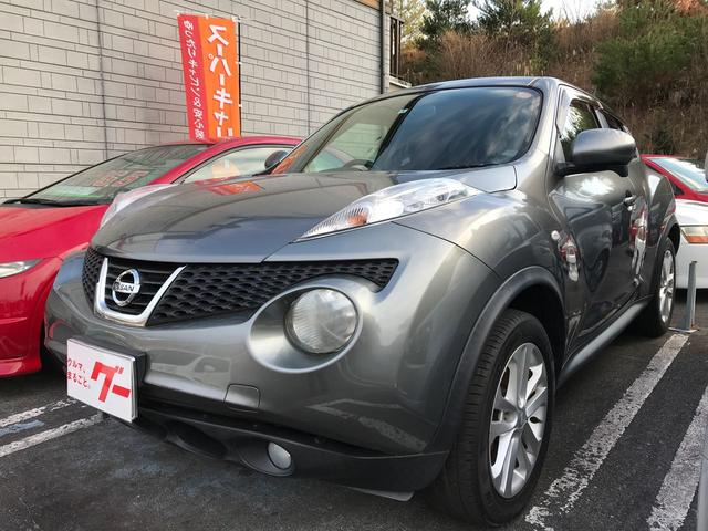 日産 ジューク 16GT FOUR 4WD ETC ナビ Rカメラ HID