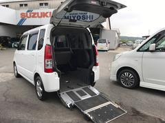 ワゴンRスローパー 福祉車両 エアコン コラムAT アルミホイール
