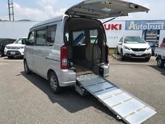 エブリイワゴン車いす移動車 福祉車両 4WD エアコン インパネ4AT