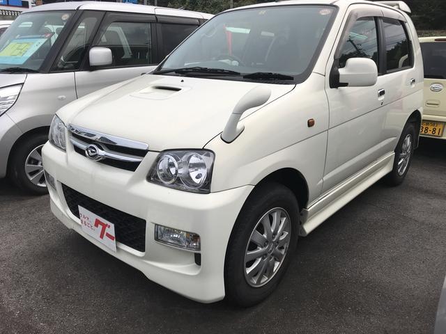 ダイハツ カスタムL 軽自動車 4WD AT 保証付 エアコン AW