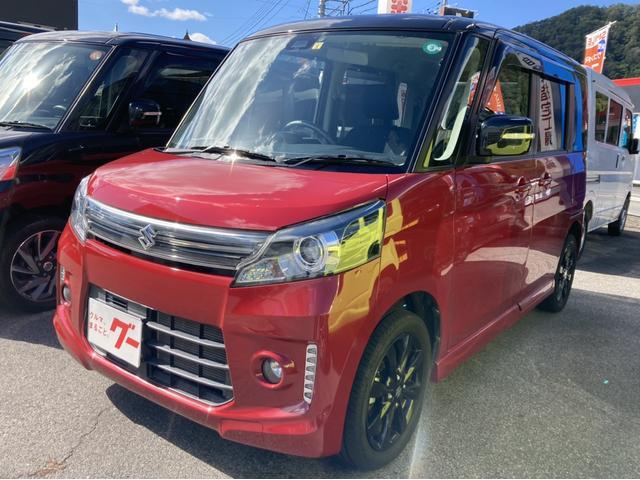 スズキ XSリミテッド 4WD 両側電動スライドドア TVナビ バックカメラ Bluetooth接続可 ETC スマートキー プッシュスタート HID