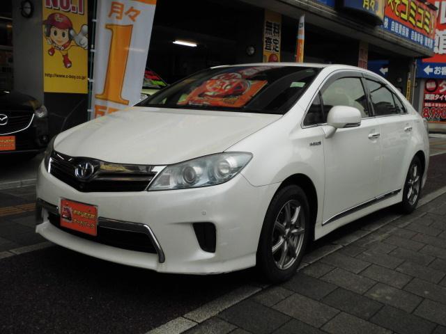 トヨタ S HDDナビ フルセグTV ETC フロント・バックカメラ