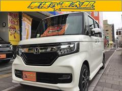 N BOXカスタムG・Lホンダセンシング 届出済未使用車 両側電動スライドドア