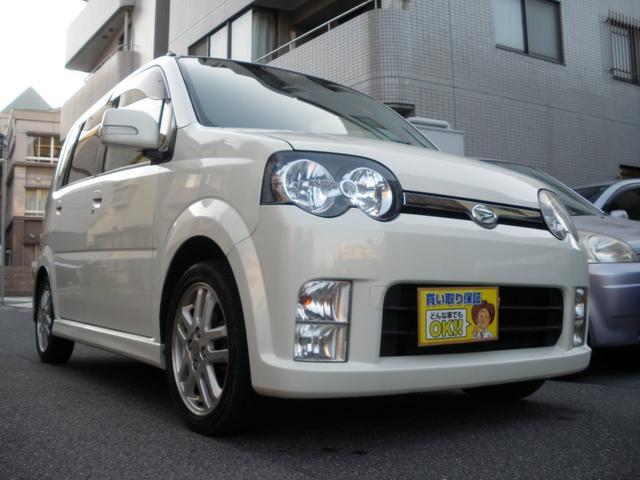 ダイハツ カスタム RS Tベルチェーン式 HIDライト GOO鑑定車