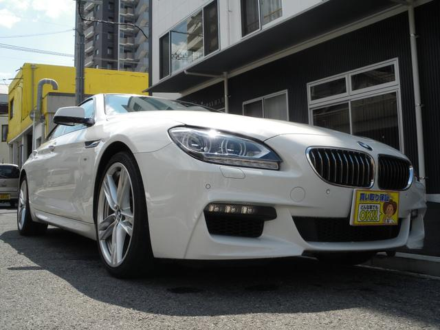 BMW 640iグランクーペ Mスポ SR 地デジ GOO鑑定車