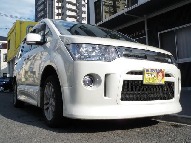 三菱 ローデスト S ワンオーナー車 純正エアロ GOO鑑定車