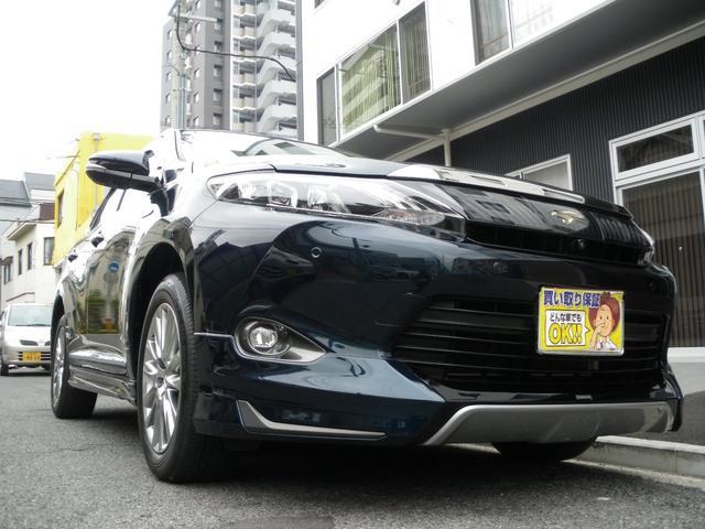 トヨタ ハリアーハイブリッド プレミアム アドバンスドパッケージ エアロ LED 鑑定車