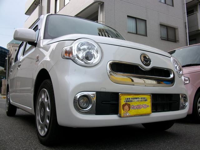 ダイハツ ミラココア ココアプラスX ワンセグ内蔵ナビ Bluetooth搭載 バックカメラ 純正LEDライト スマートキー車 GOO鑑定車