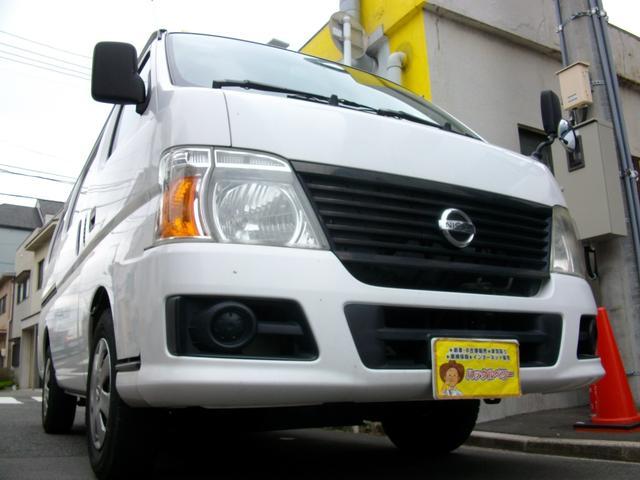 日産 ロングDX Tベルチェーン式 両側スライドドア車 キーレス GOO鑑定車