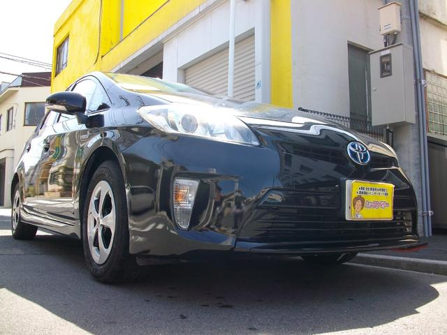 トヨタ プリウス S Tベルチェーン式 地デジ内蔵ナビ Bluetooth搭載 HIDライト バックカメラ ETC スマートキー GOO鑑定車