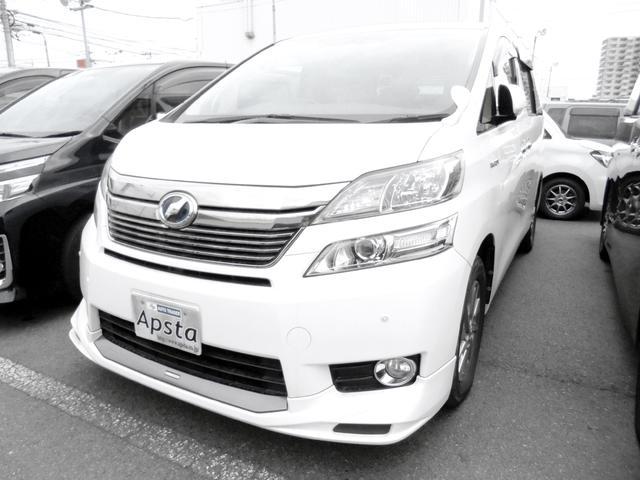 トヨタ V S/R TRDフロントスポ 8型HDDナビTV 1オナ