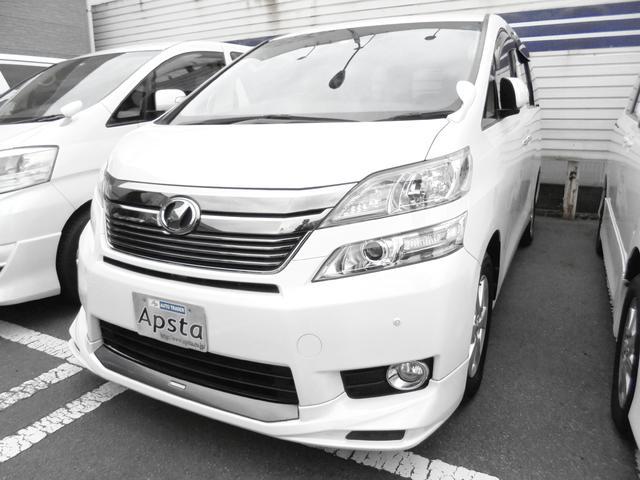 トヨタ 2.4V 4WD TRDエアロ フルセグHDDナビ 1オナ